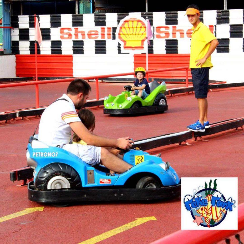 coches para niños en la manga peke park