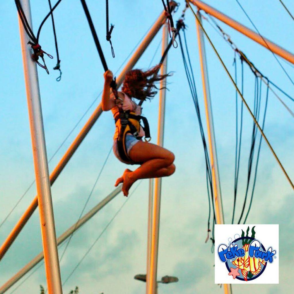 Parque de atracciones para niños en La Manga del mar menor