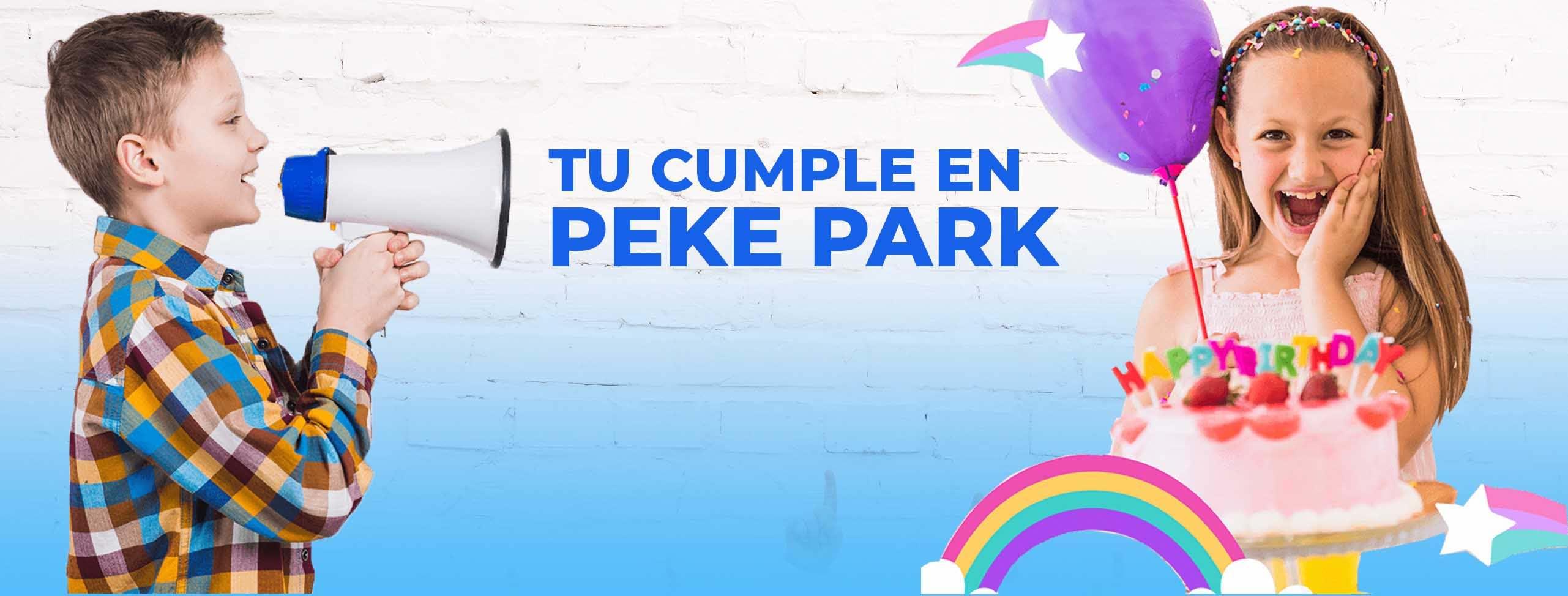 celebra tu cumpleaños en peke park